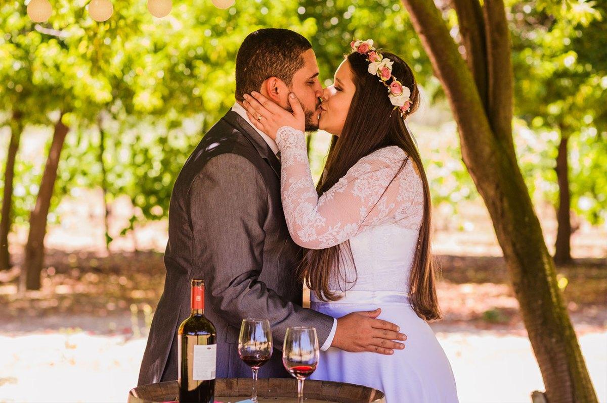 Casamento a dois no chile, o Elopement Wedding