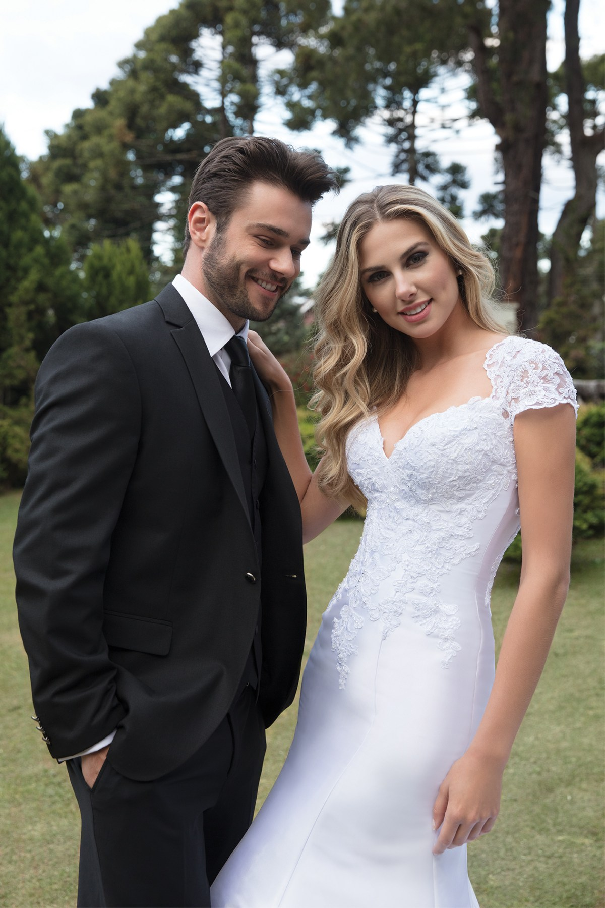 Inspirações para vestidos de noiva - Modelo Alfazema