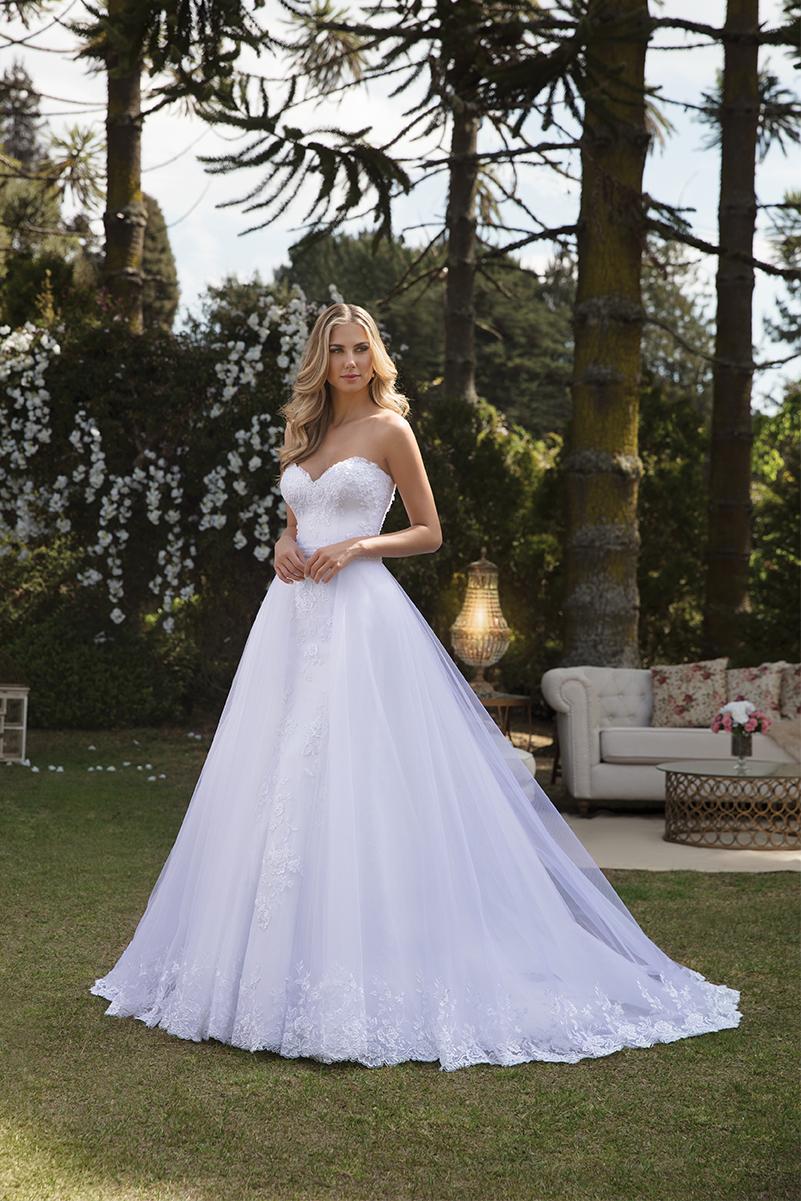 Inspirações para vestidos de noiva - Modelo Angelica