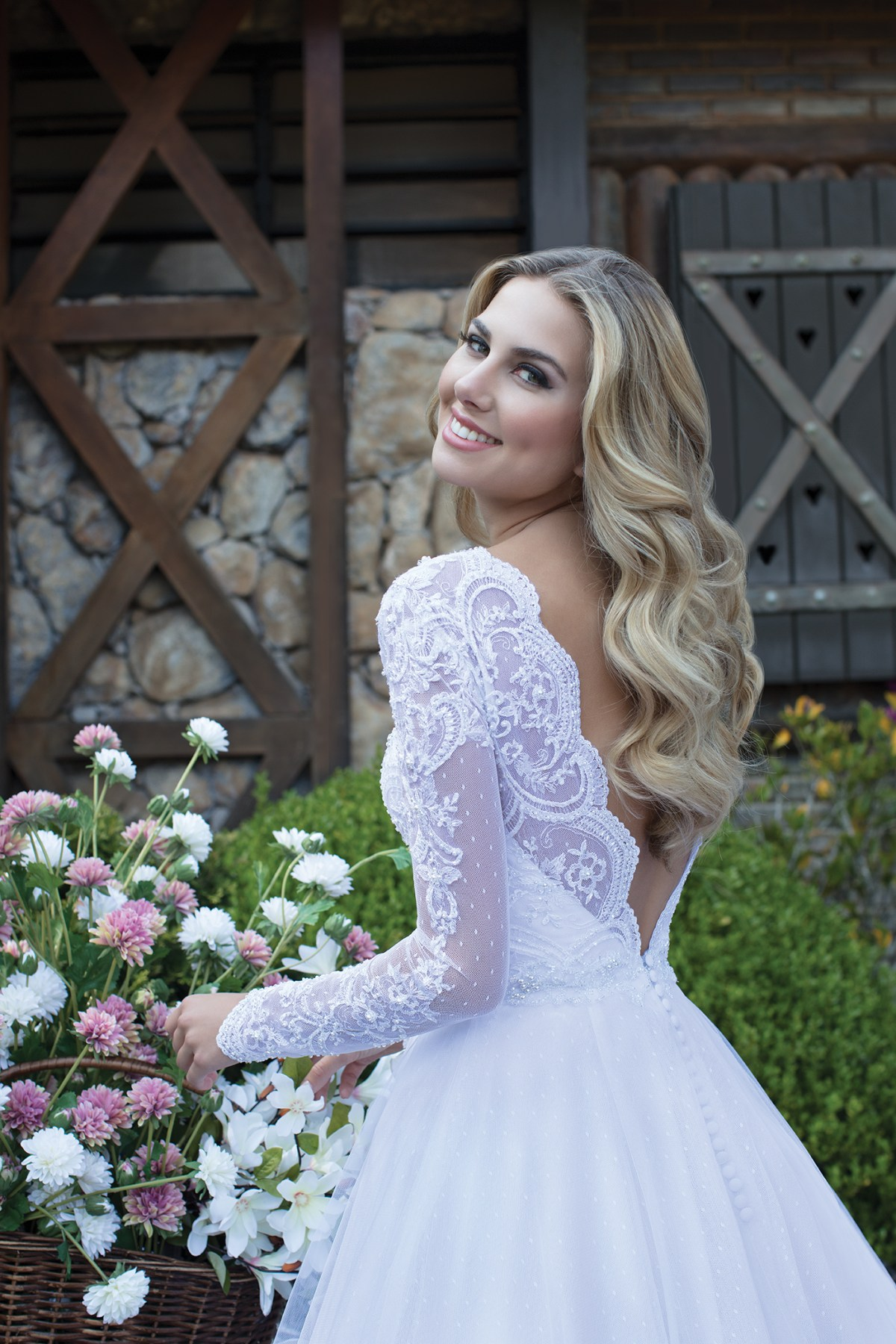 Inspirações para vestidos de noiva - Modelo Begônia