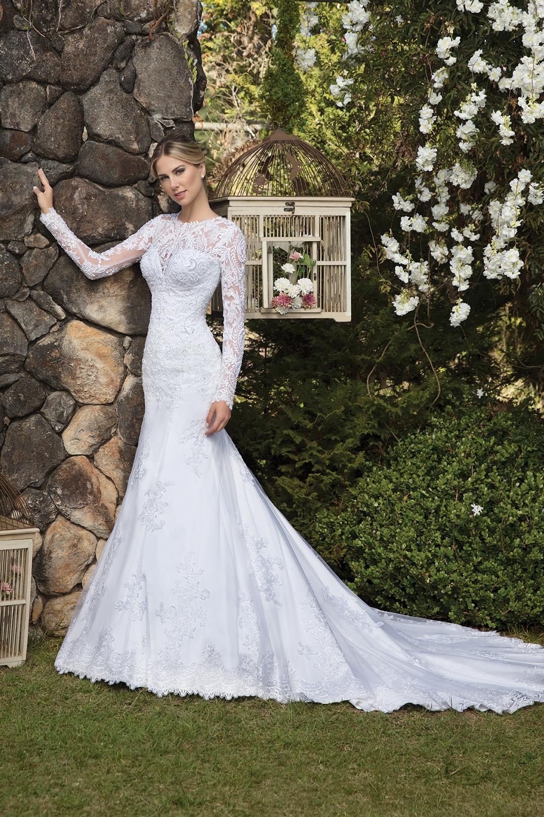 Inspirações para vestidos de noiva - Modelo Bromélia