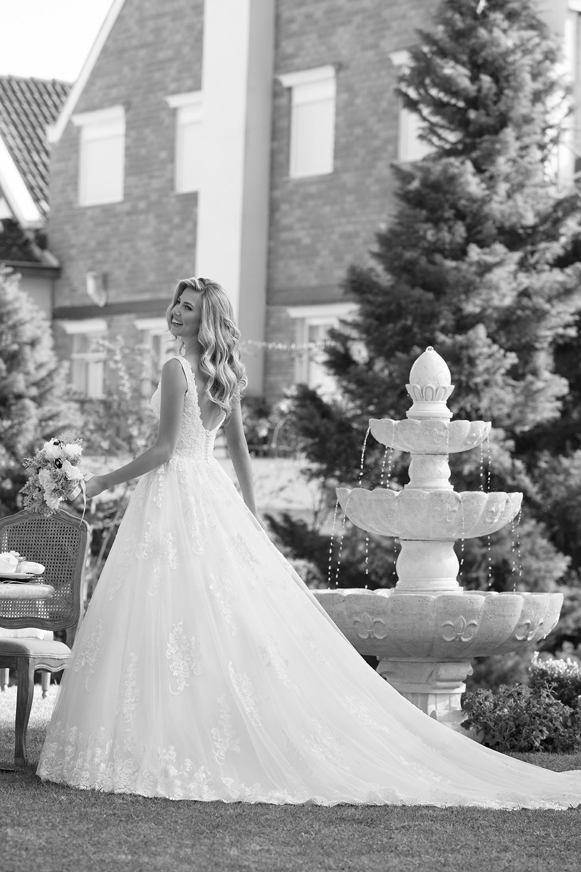 Inspirações para vestidos de noiva - Modelo Iris