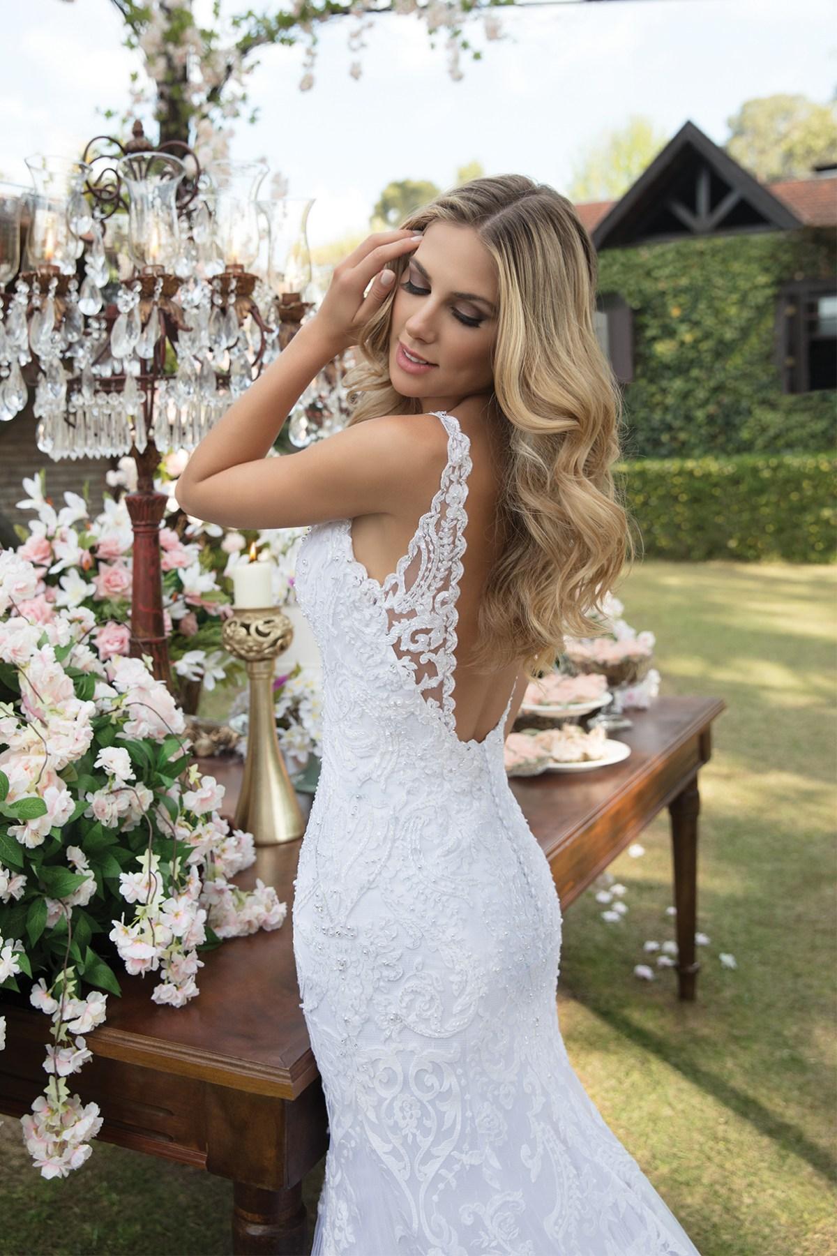 Inspirações para vestidos de noiva - Modelo Orquídea