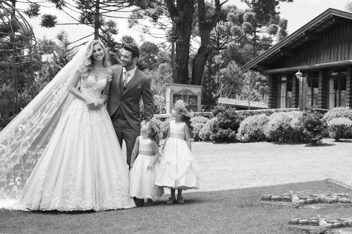 Inspirações para vestidos de noiva - Modelo Violeta