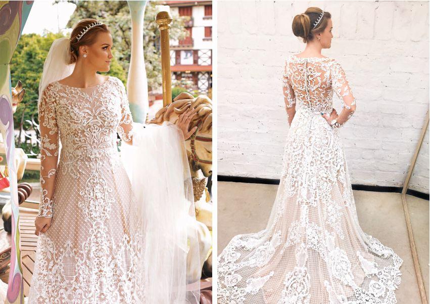 Vestidos para casamento ao ar livre