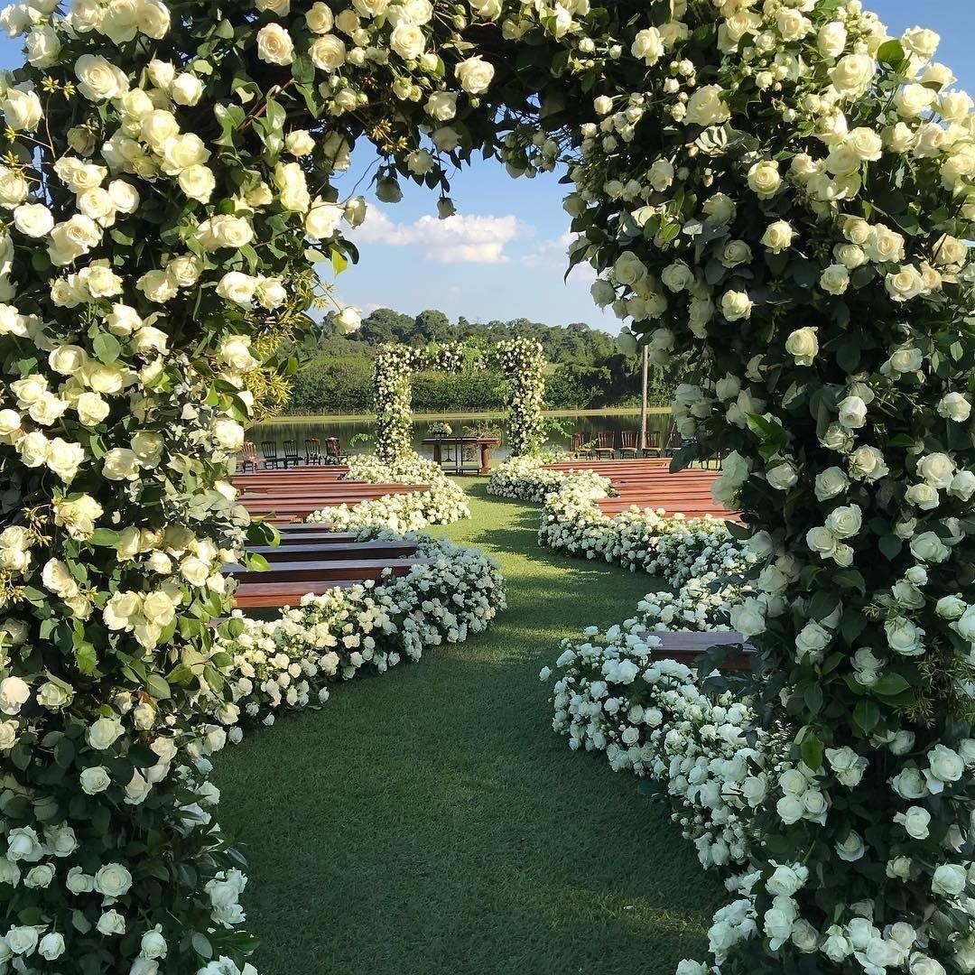 Decoração de Casamento Arco Branco