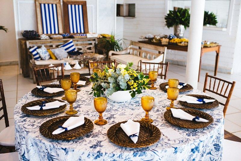 Decoração de Casamento com azulejo português