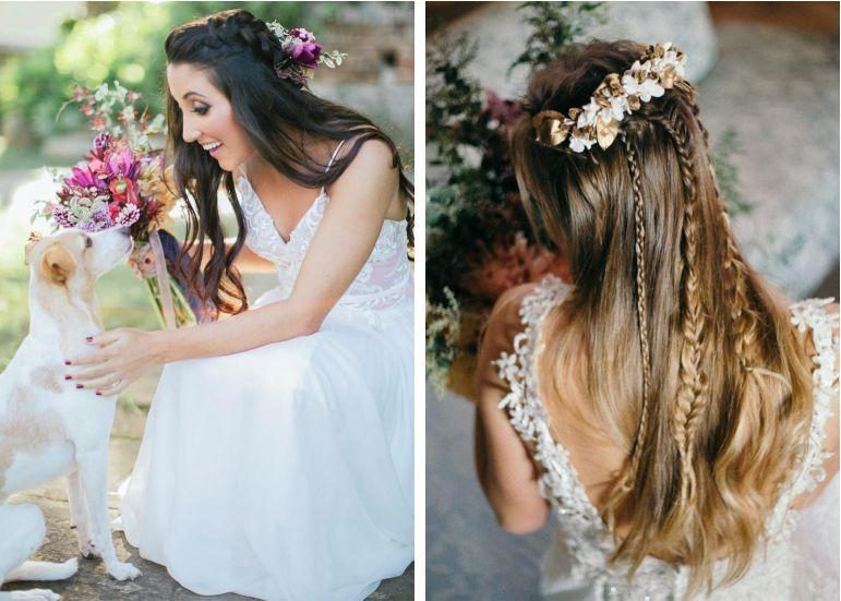 Tendências de penteados com tranças | Penteados: Fernanda Maria Beauty artist e Puntuale