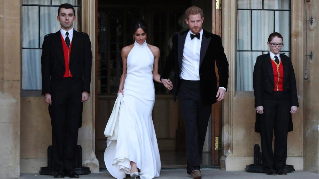 Casamento real Meghan Markle e Principe Harry - Recepção