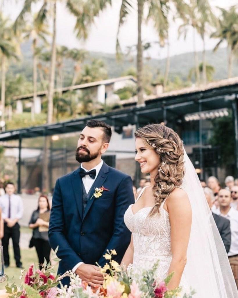 Tendências de penteados de noiva