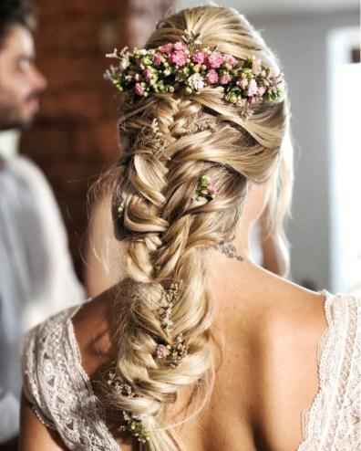 Tendências de penteados com tranças