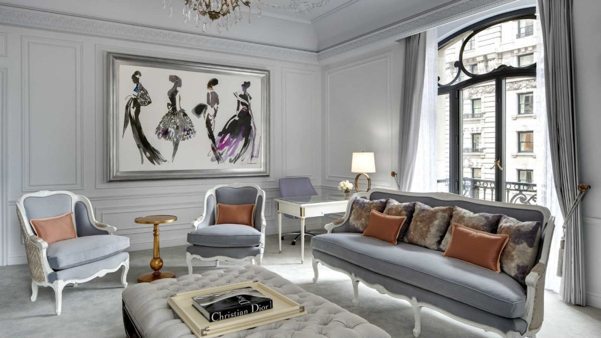 Dior Suite Living Room St. regis new york