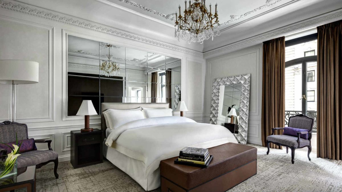 Milano Suite Bedroom St. Regis New York