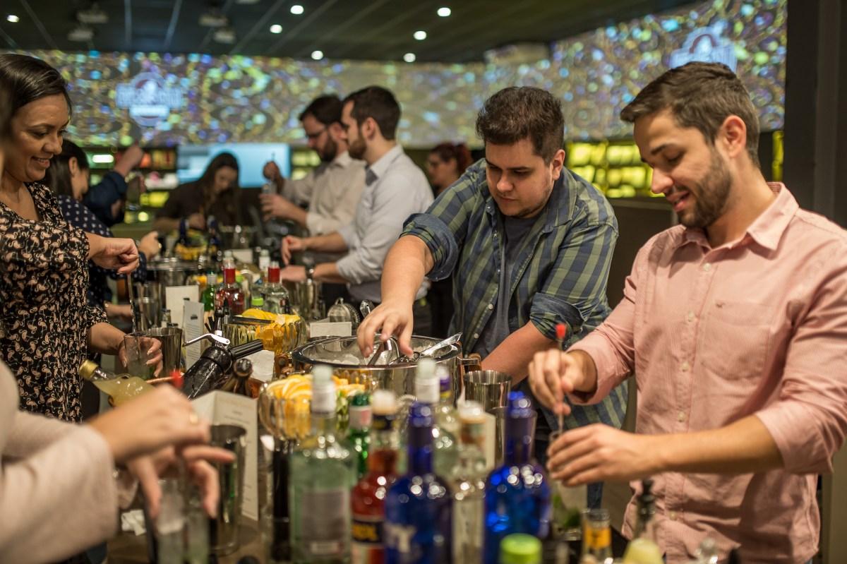 workshop de drinks na conceito bar