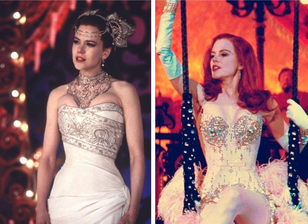 Brilhos chá de lingerie Moulin Rouge