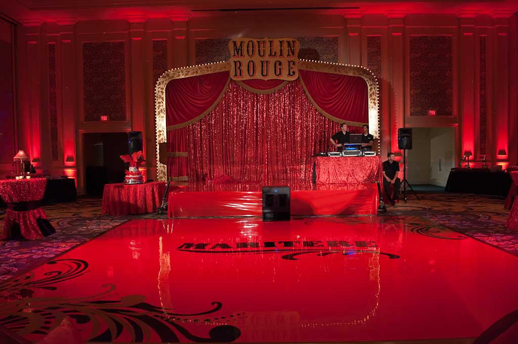 Palco Moulin Rouge