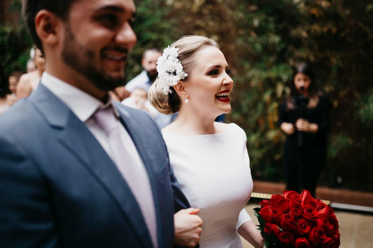 Casamento Clean: Carol e Ricardo | Foto: Thibault Barre