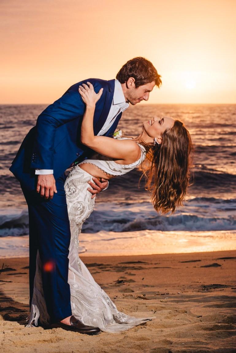 Casamento à tarde na praia | Foto: Rafael Vaz