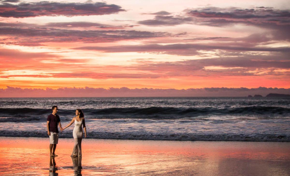 Milena Reinert Ensaio na praia