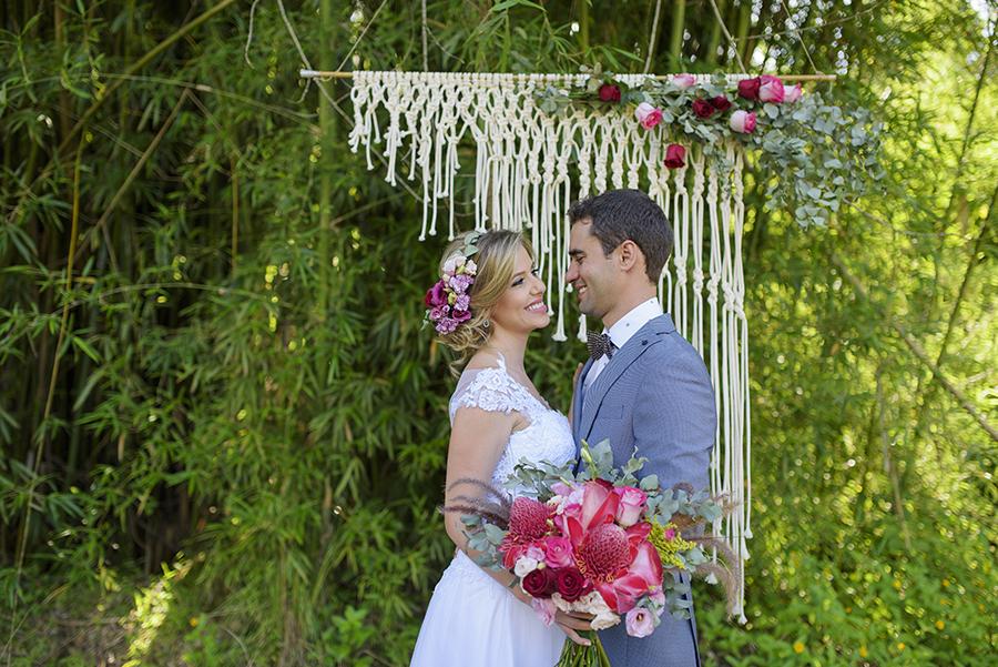 Macramê na decoração de casamento | Foto Cadeira Amarela