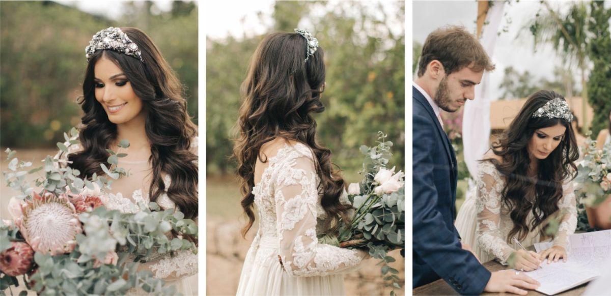 Noiva De Cabelo Solto Inspirações Para Arrasar No Penteado