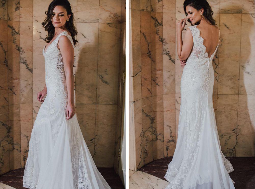 Vestido de noiva de 40 anos - Atelier Jardim Secreto