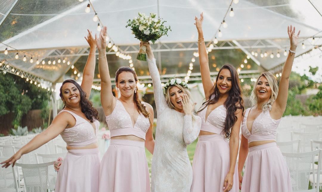 Tendências para madrinhas de casamento: Rosa e Lilás