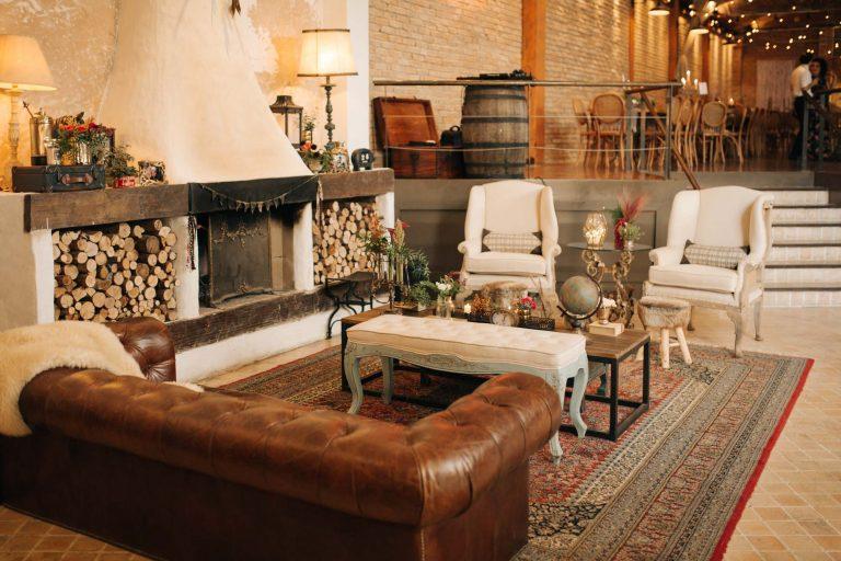 Celeiro Quintal: Casamento no inverno