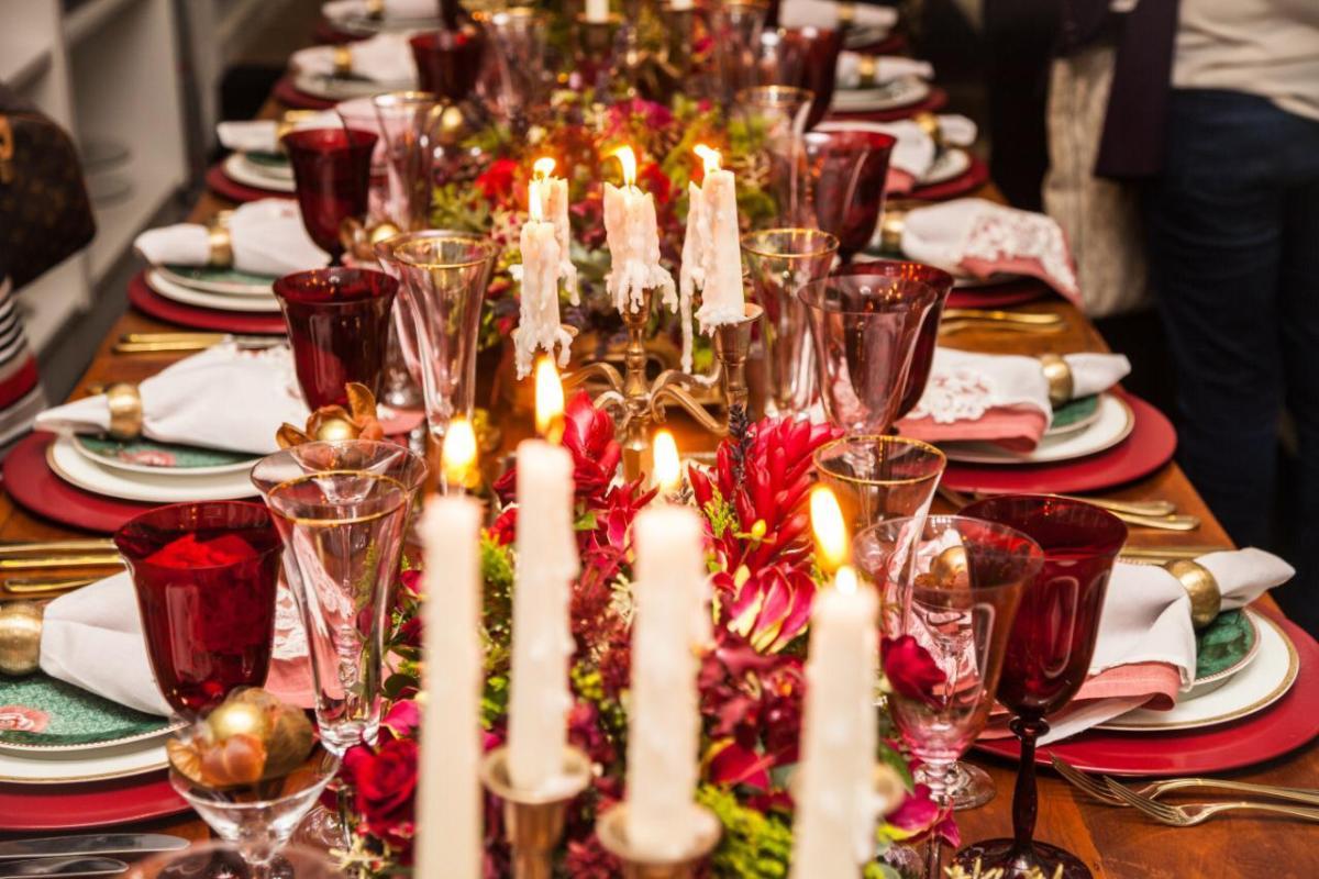 Dicas para decorar a mesa de natal