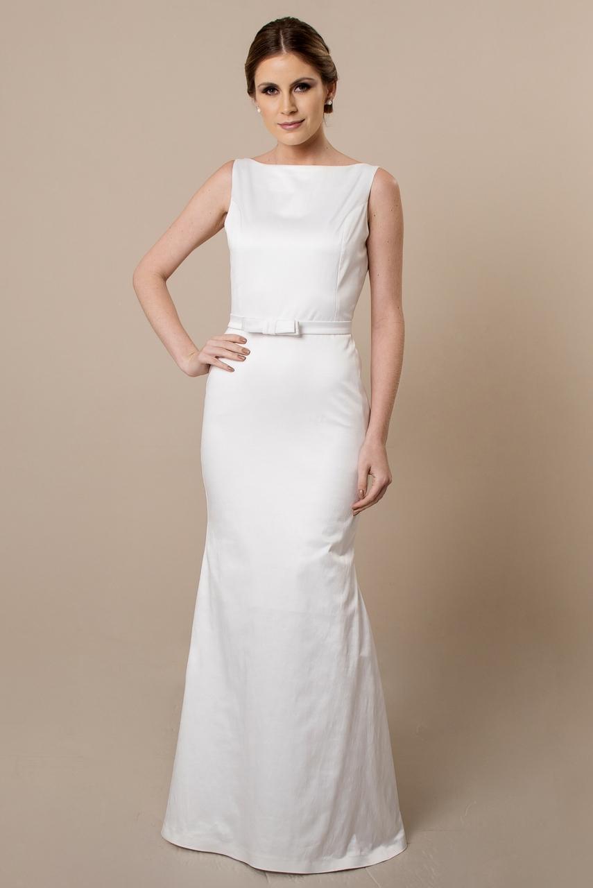 Vestido de noiva para casamento civil: Atelier Luit