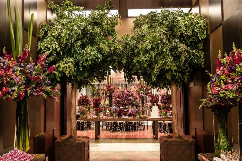 Decoração de casamento botânica - Espaço Casa Itaim