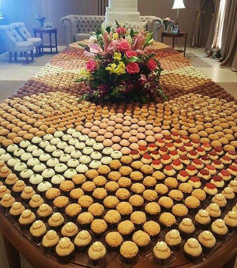 Mesa tapete de doces
