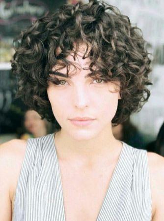 Penteado de cabelo curto