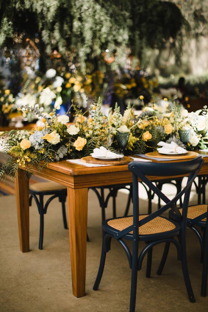 Casamento azul e amarelo - Foto: Rafael Covre