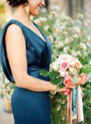 Vestido para madrinha classic blue