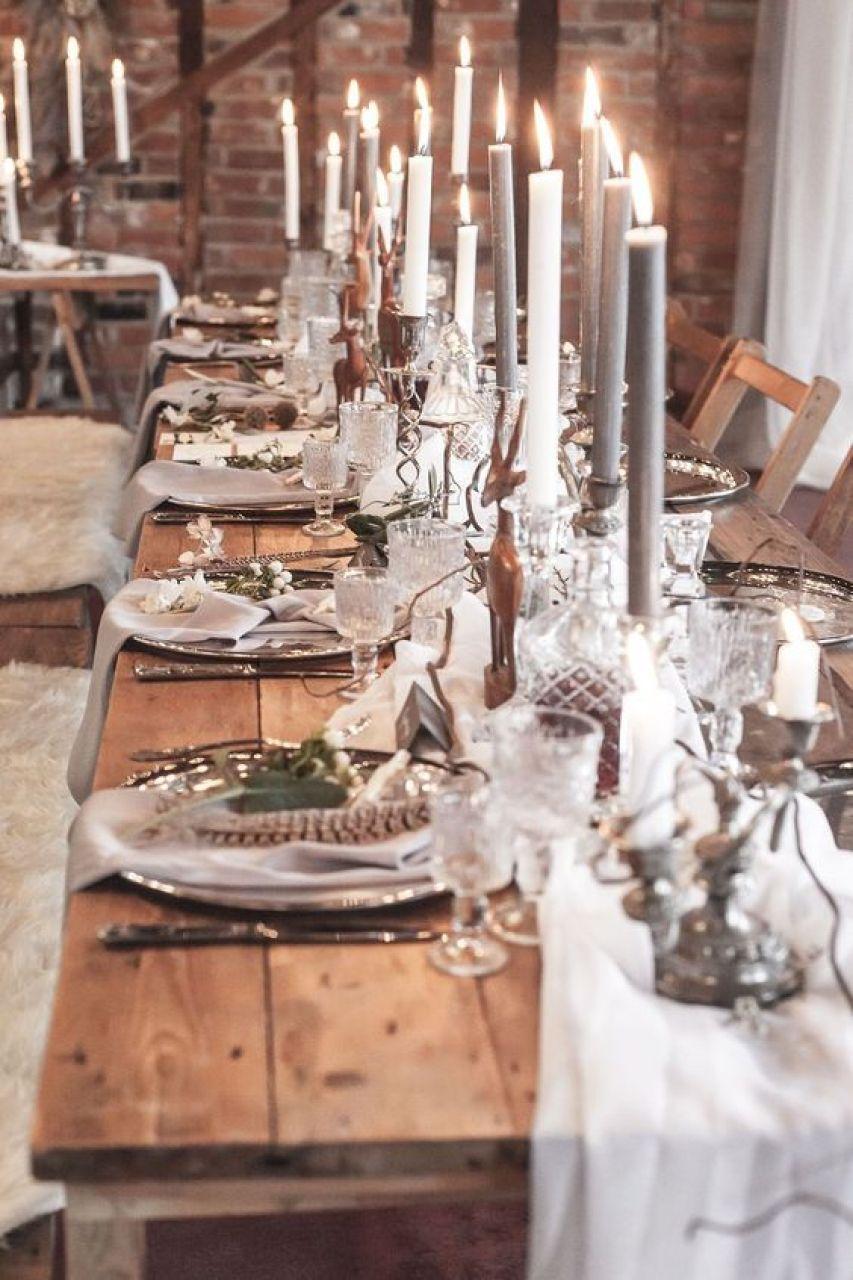 decoração nórdica de casamento