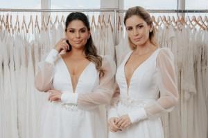 vestido de noiva para todos os manequins