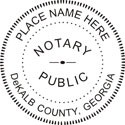 Georgia Self-Inking Notary