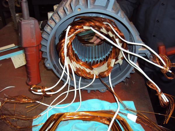 Ac Blower Wiring A C 3 Phase Motor Repair Michigan Industrial Equipment