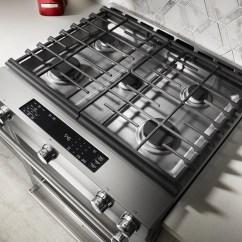 Kitchen Aid Range Lowes Delta Faucet Kitchenaid 30 Slide In Gas Stainless Steel Ksgb900ess Home