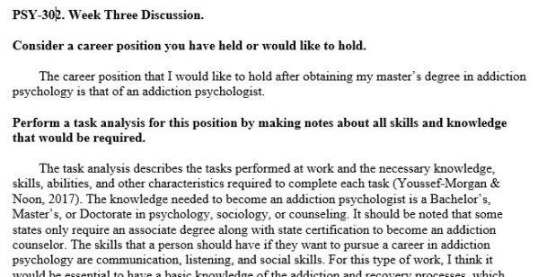 ((SOLVED)) PSY302: Industrial/Organizational Psychology...