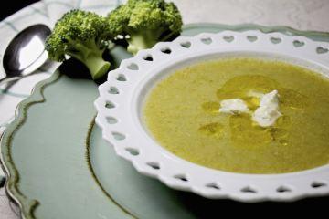 Crema di broccoli al gorgonzola