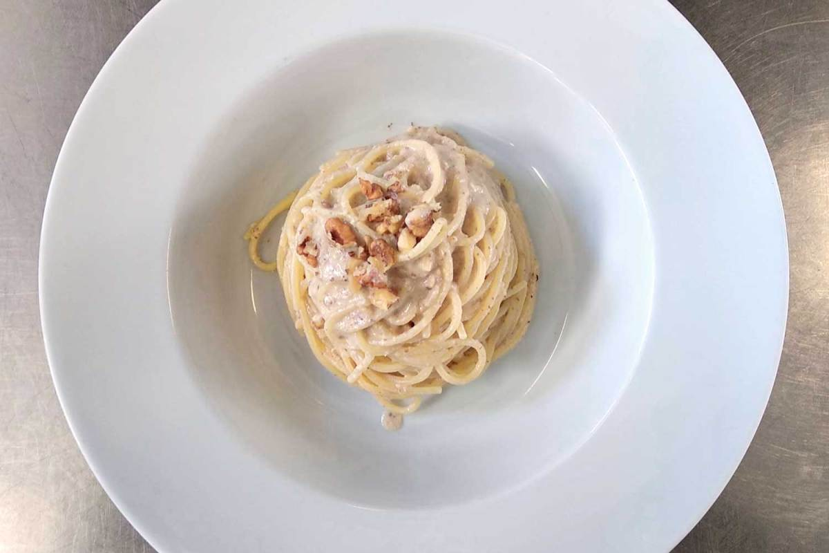 Spaghetti alle noci