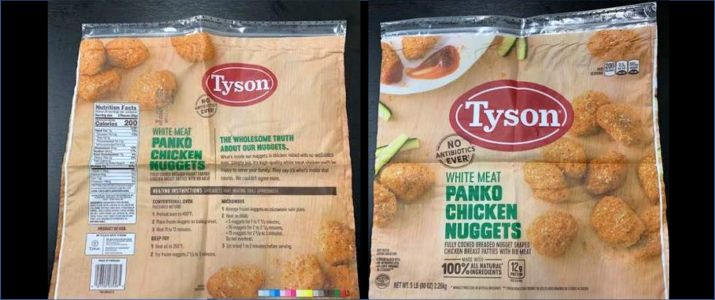Tyson Foods Recalling More Than 36000 Pounds Of Chicken Nuggets Due