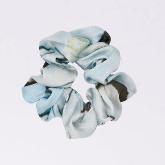 Acephala Silk Scrunchie Blue N