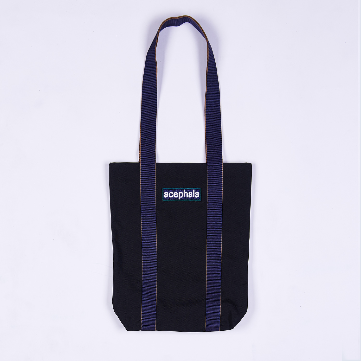 Acephala Fw20 Black Tote Bag With Logo