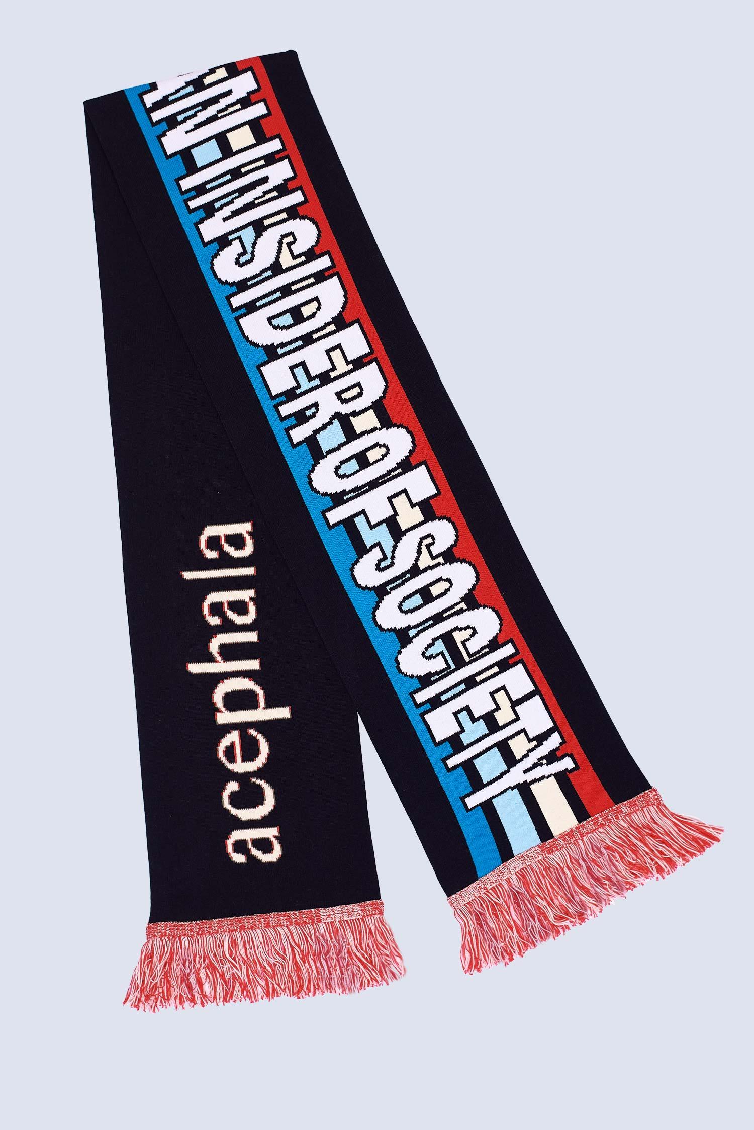 Acephala Fw20 Flatshot Sogan Scarf Black
