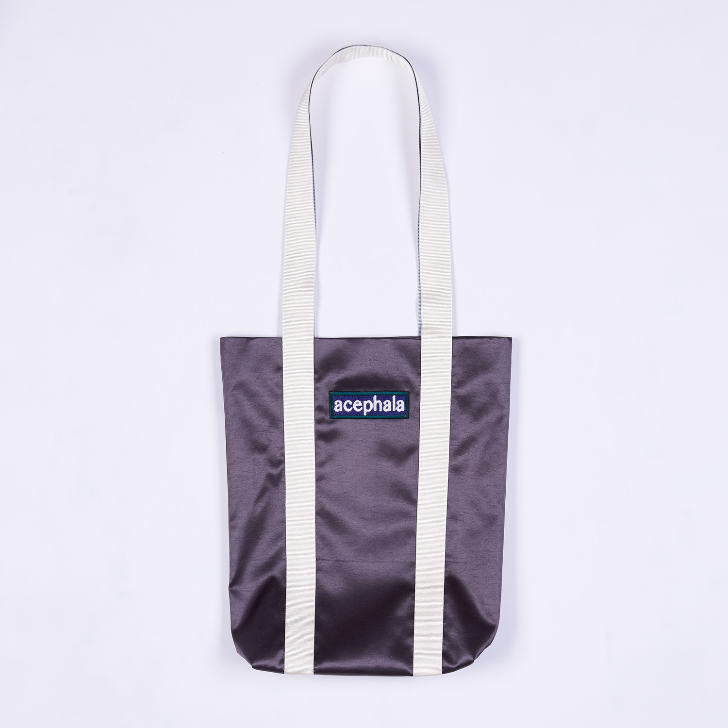 Acephala Fw20 Green Tote Bag With Logo