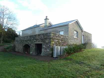 Stone Arches at Rear of Barn