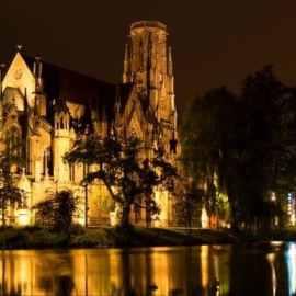 Illuminated Church